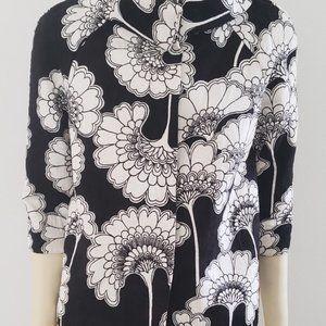 kate spade Jackets & Coats - Kate Spade black white pop vintage style jacket 6